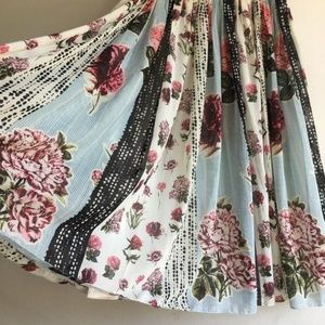 HP 🎆 10/7 Anthropologie Condorcet Floral Midi
